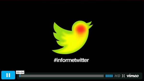 Informe Twitter en Vimeo (enlace externo)