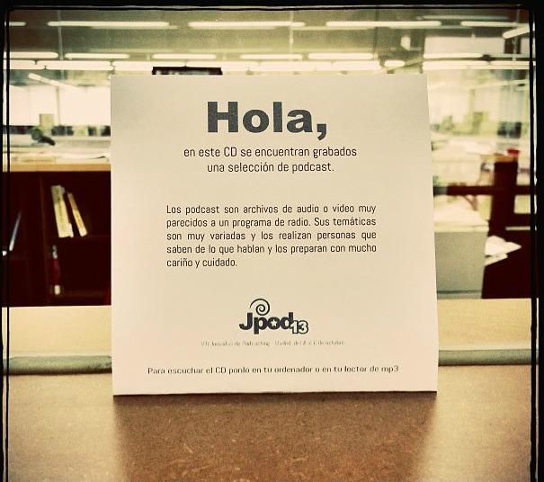 CD 'olvidado' por Juan Ortiz en la Escuela Superior Técnica de A Coruña | foto: @Jortdel
